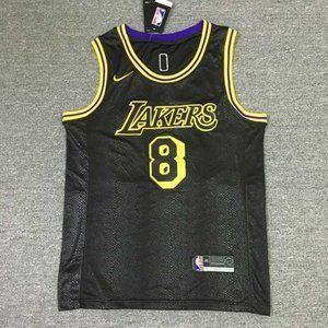 Kobe Bryant 8 +24 Black Mamba commemorative jersey